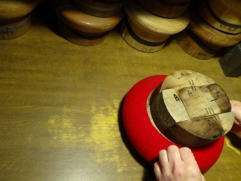 5 czerwony włożenie drewnianych klocków